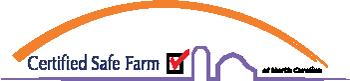 certified safe farm logo