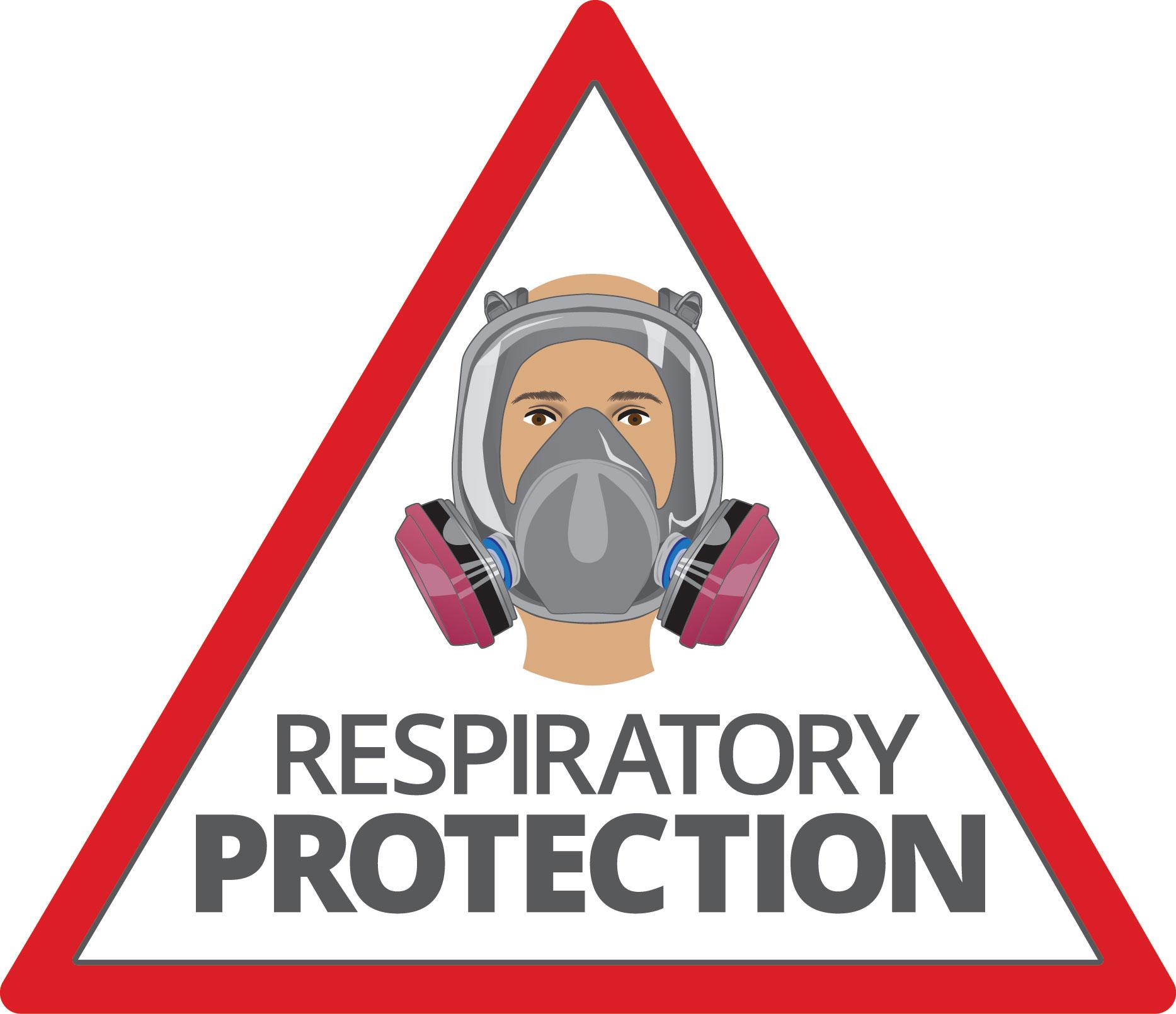 Respiratory protection logo